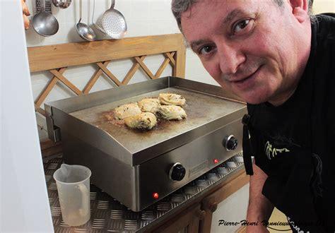 cuisine à la plancha planchas