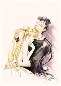 Sailor Moon Seiya and Usagi