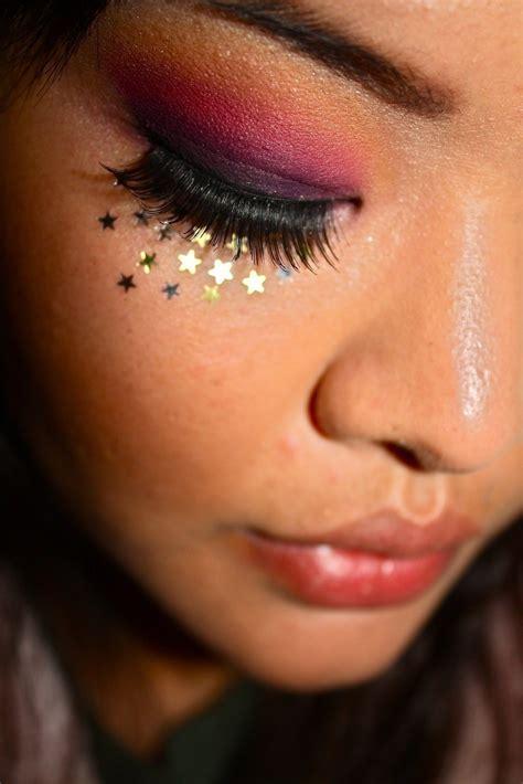 sunset inspired eyeshadow  sunburst eye makeup