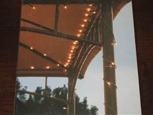 Target MADAGA Gazebo Canopy Tent STRING LIGHTS THRESHOLD
