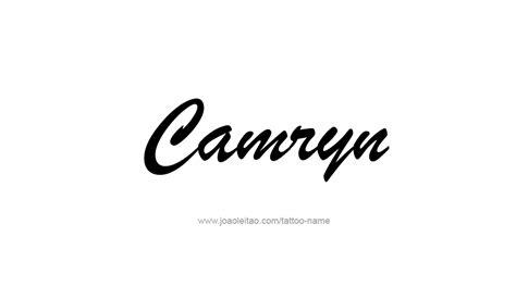 camryn  tattoo designs