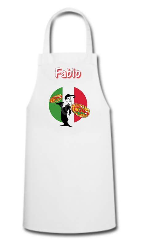 tablier de cuisine personnalisé homme tablier de cuisine pizza pizzaiolo personnalisé avec prénom divers tablier de cuisine
