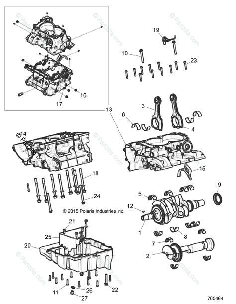 Polaris Side Oem Parts Diagram For Engine