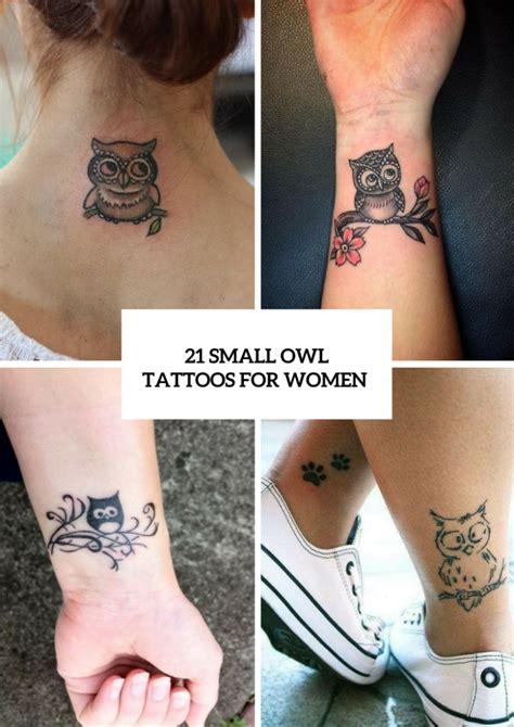 small owl tattoo ideas  women styleoholic