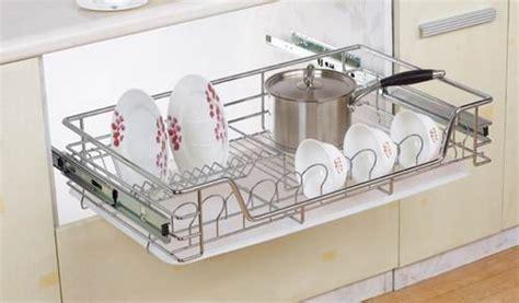 wire baskets for kitchen cabinets hpj602 kitchen cabinet 3 tier drawer organizer basket 1916