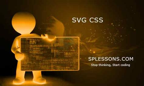 Svg supports different methods for animation, but you're going to learn one of the most common methods: SVG CSS