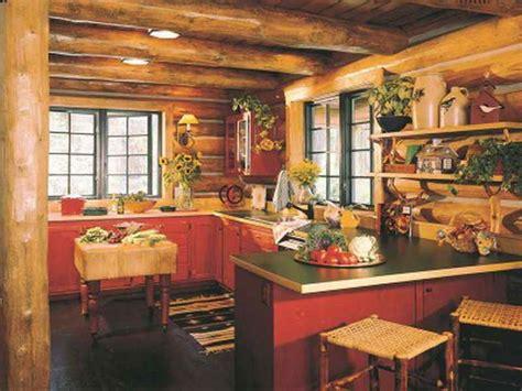 kitchen log cabin kitchens design ideas lodge decor