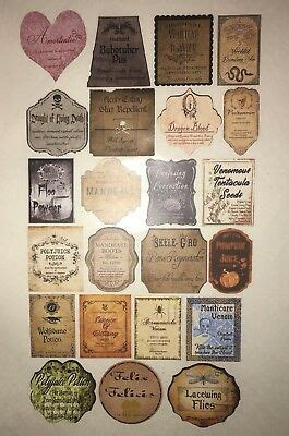 stickers potion bottle labels apothecary harry potter