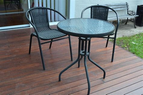 patio table and 2 chairs ikea cafe set outdoor round dining table and 2 chairs ebay