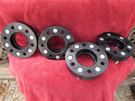 southwest bora  wheel spacers black anodized ford