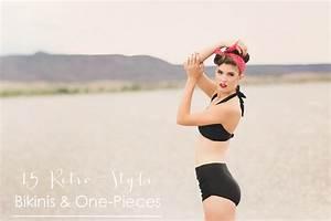 15 Retro Bikinis and One-Piece Featured Fashion