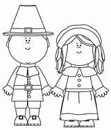 Coloring Pages Printable Pilgrim Thanksgiving Pilgrims Clip Clipart Template Cartoon Characters Templates Birthday Cliparts Simple sketch template