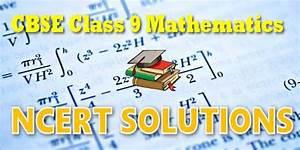 Ncert Solutions For Class 09 Mathematics
