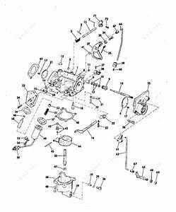 Johnson 1972 40 - 40e72e  Carburetor