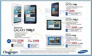 Challenger Samsung Tablets No Contract Price List 16 Nov 2012