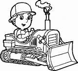 Bulldozer Getcolorings sketch template