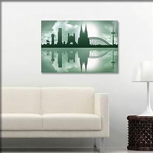 Leinwand Köln Skyline : skyline wandtattoo silhouette von k ln in schwarz unsere ~ Sanjose-hotels-ca.com Haus und Dekorationen