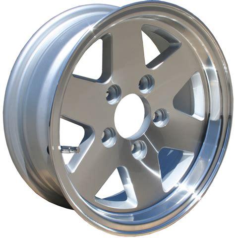 Boat Trailer Wheels Alloy by 13 X 5 Machined Alloy Wheel