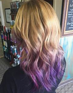 50 Cool Ideas of Lavender Ombre Hair and Purple Ombre ...