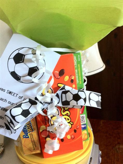 gift for soccer coach party ideas pinterest