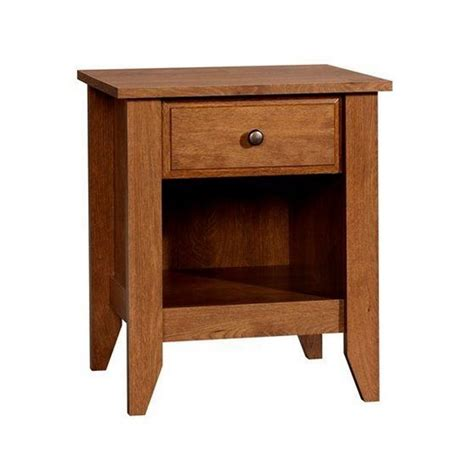 nightstand  oiled oak