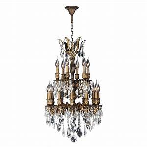 Hampton bay light oil rubbed bronze crystal small chandelier ihn a the home depot