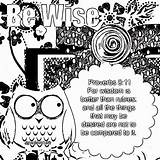 Coloring Wisdom Sheets Treasure Children sketch template