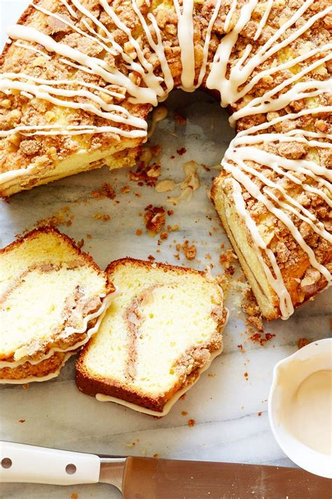 Butter and flour, for greasing pans; Ina Garten's Coziest Holiday Brunch Recipes   Food Network Canada   Sour cream coffee cake, Food ...