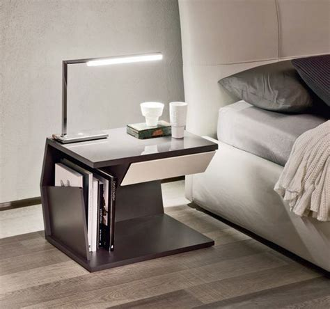 modern white nightstand modern nightstands that complete the room with their