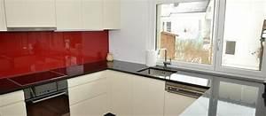 Glasrückwand Küche Beleuchtet : beige lackierte k che mit led beleuchtung funk innenausbau ag ~ Markanthonyermac.com Haus und Dekorationen