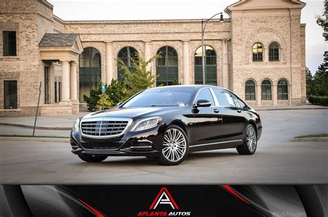 Maybach Atlanta by Used 2016 Mercedes S Class Maybach S600 For Sale