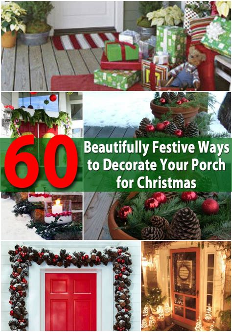 60 beautifully festive ways to decorate your porch for
