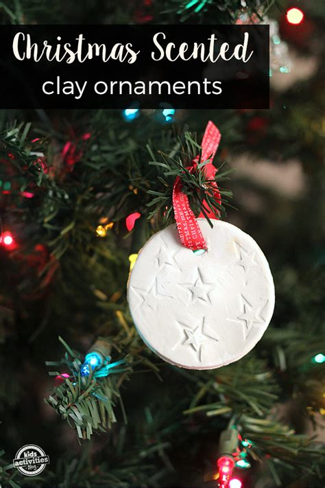 scented christmas decorations scented clay ornaments
