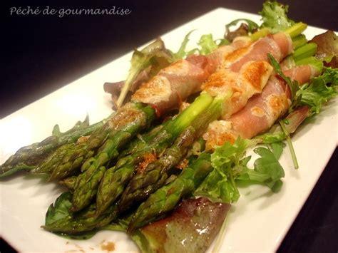 asperges vertes au jambon de parme gratin 233 es au parmesan