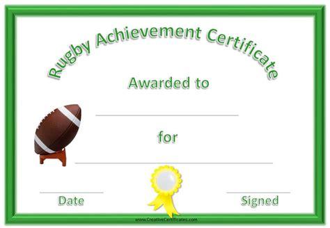 Sports Award Certificate Template Word