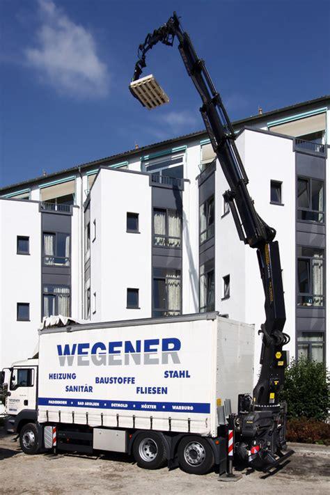 Wegener Paderborn Sanitär by Logistikspezialist Wegener