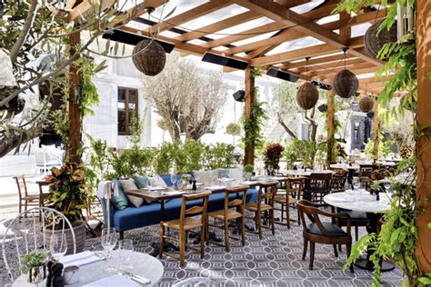 Restaurant Patio by House Home