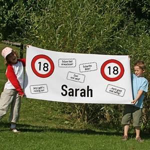 Banner Zum 18 Geburtstag