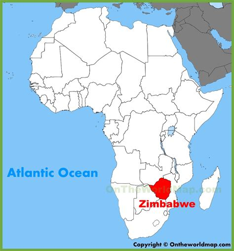 world map  zimbabwe choice image word map images