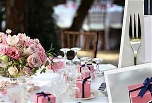 Deco Mariage Bleu Marine : d coration de mariage rose bleu marine et blanc paperblog ~ Teatrodelosmanantiales.com Idées de Décoration