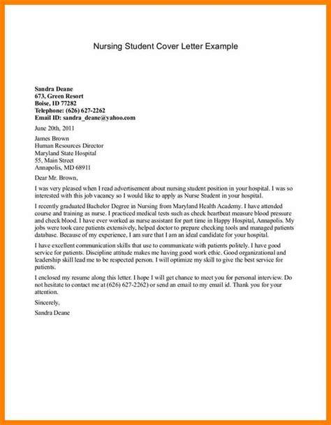 cover letter student 4 cover letter nursing student target cashier