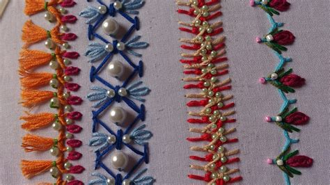 hand embroidery stitches tutorial  beginners art
