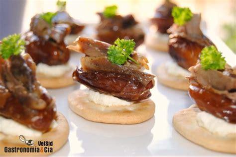 savoury canapes dátiles rellenos de cordero lechal gastronomía cía