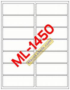 maco ml 1450 ml 1450 ml1450 laser inkjet label white With maco label templates