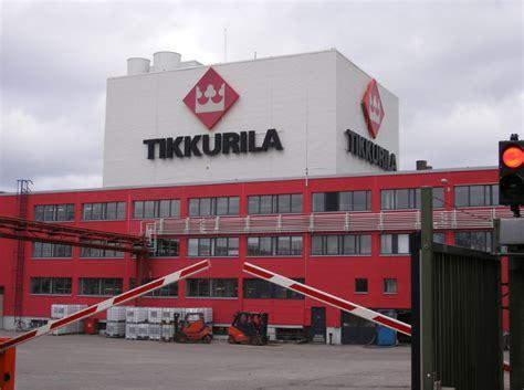 Tikkurila verf- en coatingproducten uit Finland - Finnpro
