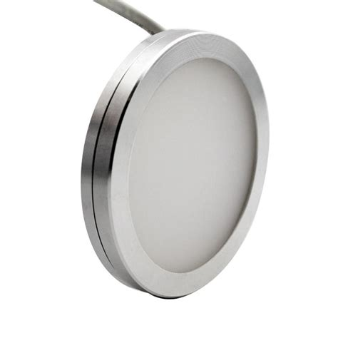 dimmable 12v dc 3w led cabinet lighting puck light