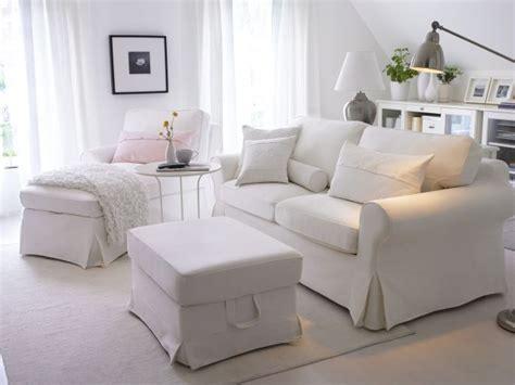 Ikea White Ektorp Couch
