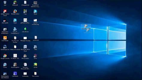comment faire apparaitre les icones sur le bureau les icones du bureau ont disparu 28 images ic 244 nes