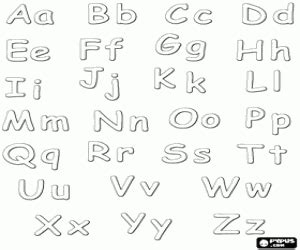 Moldes de letras mayusculas para imprimir Imagui