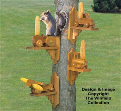 winfield collection squirrel feeders plan workshop